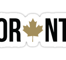 Toronto Maple | OVO Colorway Sticker