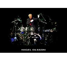 Nigel Olsson of Elton John's Band Photographic Print