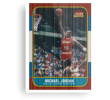 Rookie card Metal Print