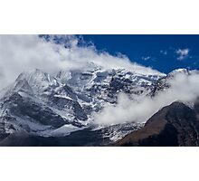 The Peak of Annapurna II, Nepal Photographic Print