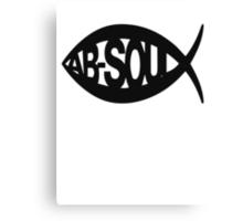 Ab-$oul Canvas Print