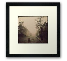 { the perfect crime } Framed Print