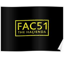 FAC51 The Hacienda Poster