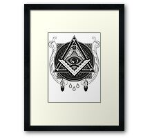 Illuminati Framed Print