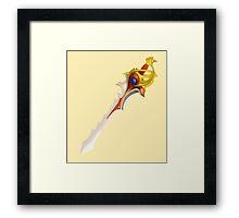 Dota 2 - Divine Rapier [Vector] Framed Print
