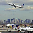 Newark Airport by Tom Gomez