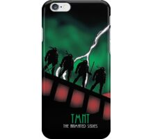 The Animated Turtles iPhone Case/Skin