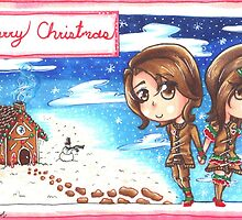 Gingerbread Man and Woman by gezusgeek
