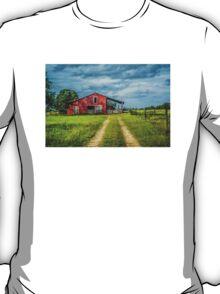 Red Barn Rustic T-Shirt