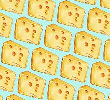 Cheese Pattern by Kelly  Gilleran