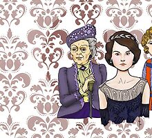Mary, Edith and Granny by Dan Paul  Roberts