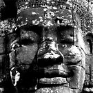 bayon faces by Courtney Goddard