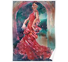 Flamenco Dancer - Dance Art Gallery 9 Poster