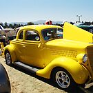 Car Show - Yellow Hot Rod by Shawnna Taylor