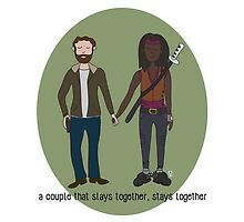 A Couple That Slays Together (Richonne) by Valerie Canizales