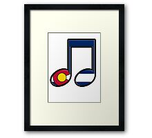The Sound of Colorado is Music Framed Print