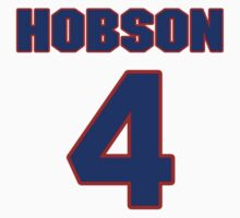 National baseball player Butch Hobson jersey 4 by imsport
