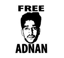 Free Adnan Photographic Print
