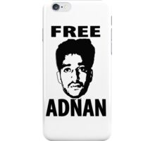 Free Adnan iPhone Case/Skin