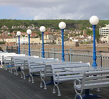 All quiet on the Weston Front!  Weston Super Mare .On the peir. by yorkyanne