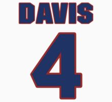 National baseball player Kiddo Davis jersey 4 by imsport