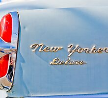 1953 New Yorker Detail by Rod  Adams