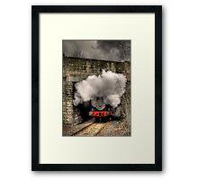 Thomas Under The Bridge Framed Print