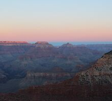 Beautiful Grand Canyon Sunset by Eggtooth