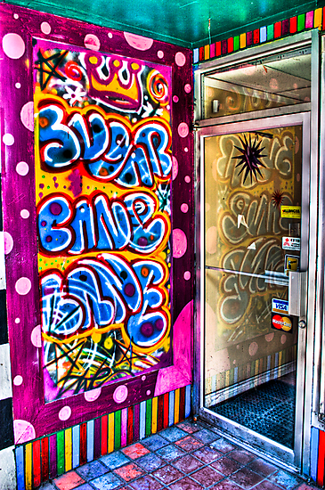 Bubblegum Graffiti by Kevin  Kroeker