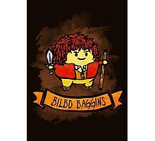 Bouncy Bilbo Photographic Print