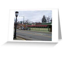 Wellsboro (Trolley Car) Diner - Wellsboro PA Greeting Card