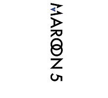 Maroon 5 Logo with Facebook Blue iPad/iPhone/Android case by vraho10