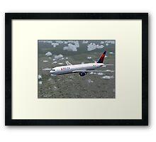 Delta Air Lines Boeing 767-300 Framed Print