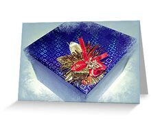 *All ready for Christmas giving* Greeting Card