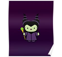 Hello Kitty - Maleficent Poster