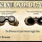Steampunk:  Goggle Glass by Jon Burke