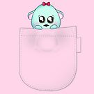 Cute pet baby animal in your pocket by Tee Brain Creative