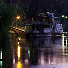 Riverboat Sunset.... by snowwombat
