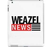 WEAZEL News iPad Case/Skin