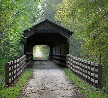 Covered Bridge by Stevesphotoz