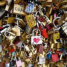 Love Locks in Paris by Ludwig Wagner
