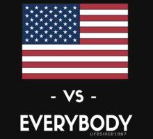 USA VS EVERYBODY by LifeSince1987