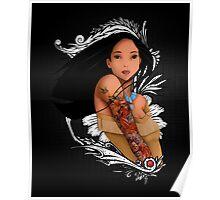 Pocahontas - Inked Poster