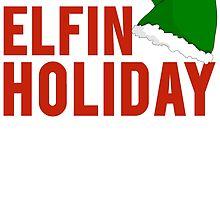 Happy Elfin Holiday by mralan