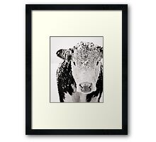 Shaggy Beast Framed Print