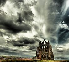 whitby abbey by jangetagrip
