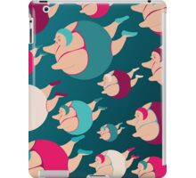 Synchronised Night Swimmers iPad Case/Skin