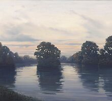 River Thames near Tilehurst by Richard Picton