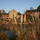 Brailsford Water Mill, Derbyshire by RedHillDigital