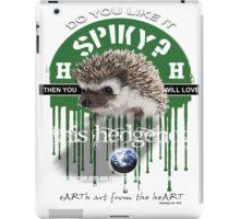 hedgehog spikey iPad Case/Skin